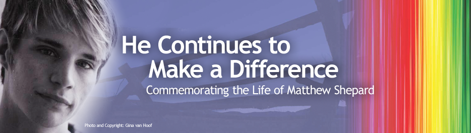 He continues to make a difference banner