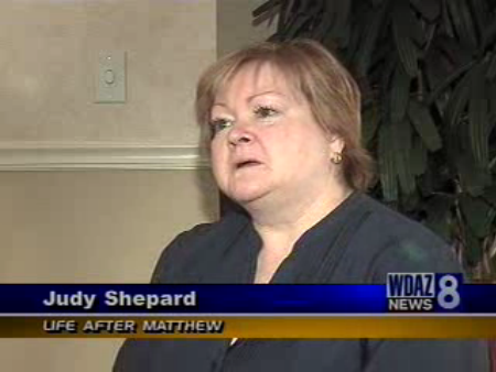 Judy Shepard at Notre Dame